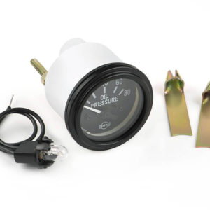 ISSPRO Oil pressure gauge (black)